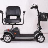 Il vagone per il trasporto dei lingotti elettrico di mobilità di auto delle 2 rotelle ha coperto il motorino elettrico