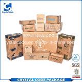高品質および低いオーバーヘッド世界中紙箱