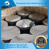 L'approvisionnement de moulin d'ASTM a laminé à froid le cercle de l'acier inoxydable 304