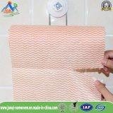 Cuisine non-tissée remplaçable en gros nettoyant le produit humide de tissu de chiffons