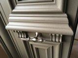 Porta nova do alumínio da entrada da casa de campo do projeto 2017