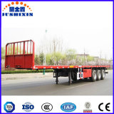 3 Semi Aanhangwagen van de Container van de Aanhangwagen van de as 40FT Flatbed Semi