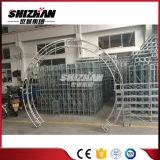 Braguero redondo de aluminio de la fuente de la fábrica