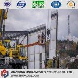 Tipo chiaro magazzino progettato costruzione d'acciaio industriale/liberato di/costruzione