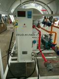 Estação 10cbm do patim do LPG