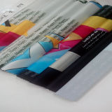 Tela de matéria têxtil impressa Digitas poli da HOME do vestuário da forma do cetim