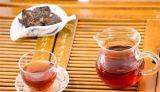 Mini mattone dorato del tè