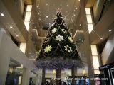 Decoração do feriado do Natal da luz da rede do motivo do diodo emissor de luz