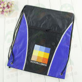Polyester modificado para requisitos particulares 210d Drawstring Bag con Log M.Y.D-006