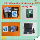 VAS 5054A с обломоком Oki с средством программирования режима Odis V6.22 экспертным установил компьтер-книжку D630 для поддержки Bluetooth Multi-Языков DELL