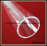 Encanamento de lustro fundido do vidro de quartzo do silicone do tamanho espaço livre grande