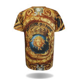Hip Hop rallongent le T-shirt fait sur commande de sublimation de T-shirt