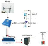 300W-100kw fora do sistema de energia híbrido de vento solar da grade