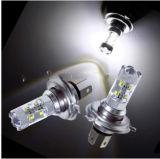 대만 공급자 50W H4 Headlamp 백색 전구 P43t 고/저 광속 차 안개 램프 DC 12V 일 야간 항행등 DRL