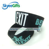 Bracelet personnalisé promotionnel bon marché de silicones