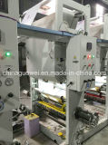 Plastic Film (Pneumatic Shaft)를 위한 Shaftless 4 Color Rotogravure Printing Machine