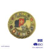 صنع وفقا لطلب الزّبون معدنة تذكار أثر قديم [سلفر كين] ([هست-سكس-108])