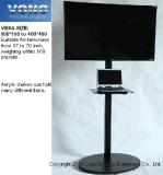 """Ausstellung-Standplatz-/des Ausstellungsstand-/LCD/TV Bildschirmanzeige-Zahnstangen/Plasma 65 der Messeen-Produkt-17 """" bis ' oder LCD-Fernsehen-Standplatz mit Acrylregal"""