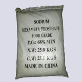Hexametafosfato SHMP del sodio del aditivo alimenticio el 68%