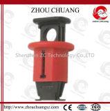 Verrouillage miniature Glace-Rempli de disjoncteur de PA de nylon avec le cadenas de sûreté