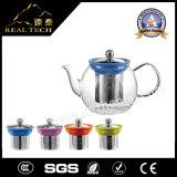 POT di vetro reso personale del tè del fiore con il setaccio dell'acciaio inossidabile