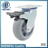 TPR Swivel Caster Wheel für Schwer-Aufgabe