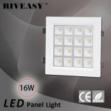 16W LED helles Panel-scharfes Eckhohe Leistung PFEILER LED Licht mit Cer und RoHS LED Instrumententafel-Leuchte