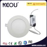 Plafonnier léger rond du conducteur LED LED Downlights de voyant de LED