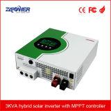 3kVA 5kVA met MPPT ZonneControlemechanisme gelijkstroom aan AC van de Omschakelaar van de ZonneMacht van het Net