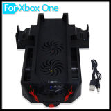 xBox One ConsoleおよびControllerのためのクーリングFan Stand Dual Charger