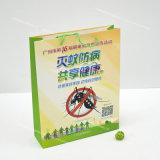 Покрашенный бумажный мешок с печатание Cmyk и лоснистым слоением, заказами OEM и ODM радушен