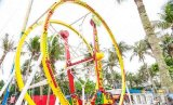 Funfair Adults Amusement Rides Ferris Wheel Ring Car 또는 Thrilling Game Ferris Wheel Ring Car Rides