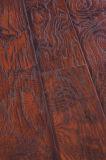 Plancher en bois stratifié par stratifié de chêne de parquet de l'érable 12.3mm E1 AC4 de vinyle
