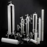 Edelstahl-Filtergehäuse mit Filtereinsatz