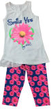 子供Printed Clothing、Summer SGS-101のためのBaby Girl Suit