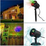Вал сада и напольные лазерные лучи украшения стены для освещения праздника