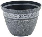 絵画プラスチック植木鉢(KD9491-KD9493)