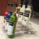 Support acrylique de présentoir de vin, espace libre, rangée 3, pour 9 bouteilles, étalage acrylique de vin, boîte de présentation acrylique de vin