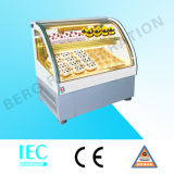 Refrigerador do indicador do bolo da parte superior de tabela de Commerical para o bolo