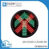 La flèche et la Croix-Rouge vertes d'allée vont arrêter des feux de signalisation optiques pour le remplacement 12 pouces