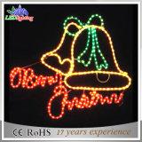 休日の装飾Ce/RoHS LEDのメリークリスマスの文字のモチーフライト