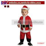 クリスマスコスプレ衣装は、サプライの幼児の少年リル·サンタ衣装のスーツ(COS1033)を好意