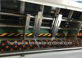Lood-Rand GSYKM het voeden flexodruk die die-cutting machine inlast