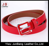 New Fashion Women PU Belt com gasolina Dripping Buckle