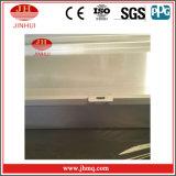 양극 처리 의 외벽, 손 가로장 (JH184)에 이용되는 분말 코팅을%s 가진 알루미늄 단면도