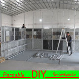 Bandera de aluminio &Reusable rápida de la exposición que ensambla