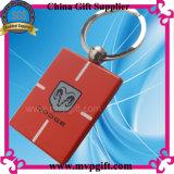 Anello portachiavi annunciato del metallo per il regalo di Keychain