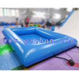 팽창식 가족 크기 수영풀 /0.9mm PVC 방수포 팽창식 물 수영장