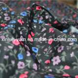 Tecido de cortina bonito de poliéster para vestuário / vestido