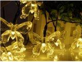 Farfalla dell'indicatore luminoso della stringa di energia solare LED per natale Lh-Sh20